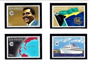 Bahamas 528-31 MNH 1983 Commonwealth Day