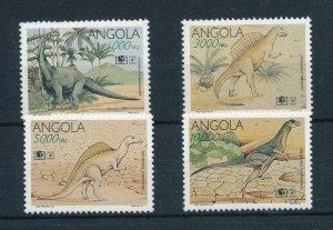 [105483] Angola 1994 Prehistoric animals dinosaurs  MNH