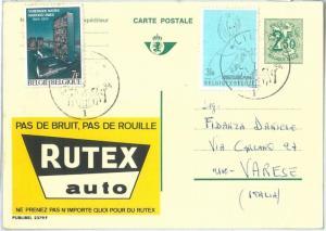 72079 -  BELGIUM - POSTAL HISTORY - Advertising POSTAL STATIONERY CARD Auto 1970