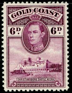 GOLD COAST Sg126, 6d Purple Perf 12. M MINT. Cat £26.