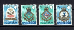 ASCENSION ISLAND - 1971 COATS OF ARMS - SCOTT 152 TO 155 - MNH