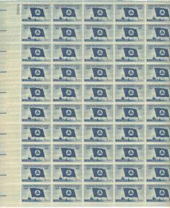 US 1088 - 3¢ Geodetic Survey Unused