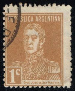 Argentina #341 Jose de San Martin; Used (0.30)