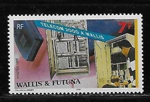 Wallis and Futuna Islands 508 Telecom single MNH
