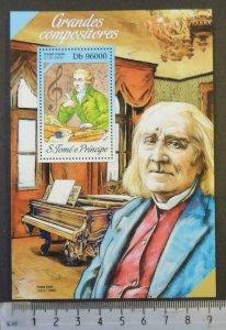 St Thomas 2013 great composers classical music franz liszt joseph haydn s/s