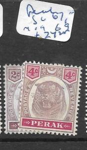 MALAYA PERAK   (P1307B)  TIGER   SG 67, 69   MOG