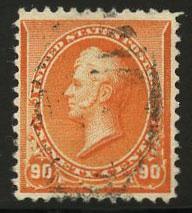 US Scott #229 Used, FVF