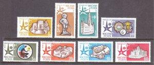 Hungary - Scott #C176-C183 - MH - SCV $3.90