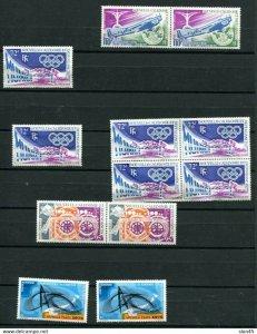 New Caledonia 1972-4 Airmail High CV MNH (Gum Disturbance)  11445