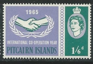 Pitcairn Islands  |  Scott # 55 - MH
