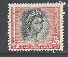 Rhodesia & Nyasaland Sc # 152 used (RS)