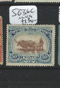 MALAYA KEDAH (P2812B)  50C     COW  SG 36C    MOG