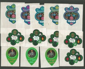 1974 Tonga Girl Guides self-adhesive