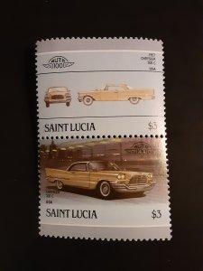 ^St. Lucia #855                MH