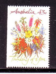Australia  Sc 1193 1990 Greetings stamp mint NH