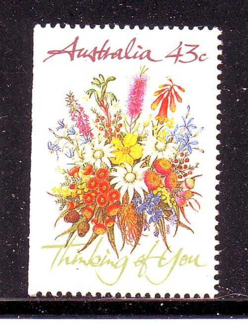 Australia  Sc 1193 1990 Greetings stamp mint NH
