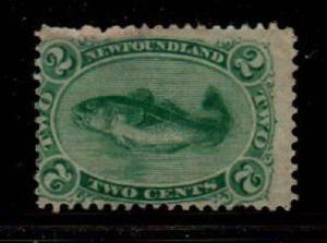 Newfoundland Scott 24 Mint hinged (Catalog Value $87.50)