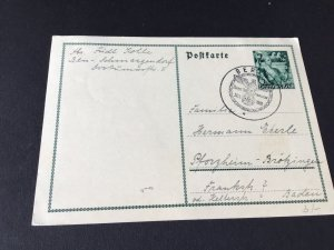 Germany Berlin 1938 special cancel stamps card  Ref R28714