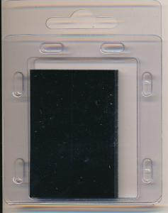 Prinz Scott Stamp Mounts Size 50/31 BLACK Pack of 40