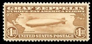 momen: US Stamps #C14 Mint OG NH VF/XF