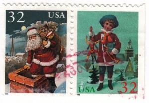 US, Scott # 3004-3005 (4), Used