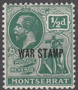 Montserrat #MR2 MNH F-VF (SU2632)