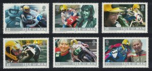 Isle of Man Joey Dunlop Motorcycle Champion 6v SG#936-941