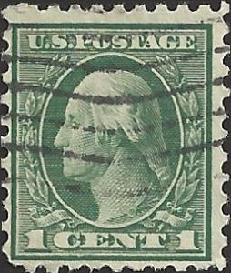 # 543 USED DEEP GREEN GEORGE WASHINGTON