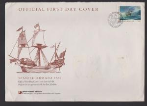 FDC OF IRELAND   STAMPS YEAR 1988. LOT#416