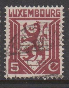 Luxembourg Sc#195 Used