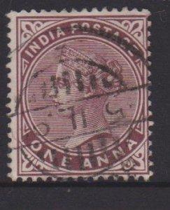 India Sc#38 Used