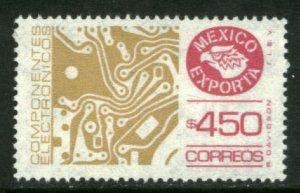 MEXICO Exporta 1585a $450P Circuit board, Unwmk Thin Paper 3. MINT, NH. VF.
