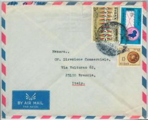 67032 -  S DAN - Postal History -   LETTER Cover  to ITALY