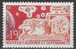 New Caledonia 390  MNH  International Telecommunications 1971