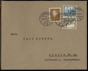 Germany 1932 Zusammendruck SK15 Se-Tenant Tete-Beche Cover 63416