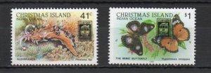 Christmas Island 246-247 MNH