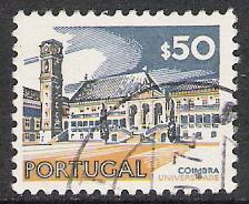 Portugal #1124 University Coimbra 1973 Used