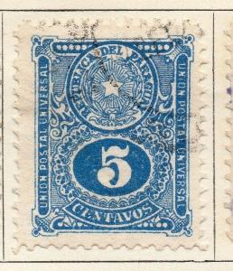 Paraguay 1920 Early Issue Fine Used 5c. 125257
