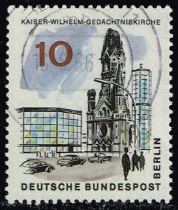 Germany #9N223 Kaiser Wilhelm Memorial Church; Used (0.25)
