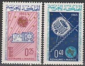 Morocco #119-20 MNH F-VF (SU6850)