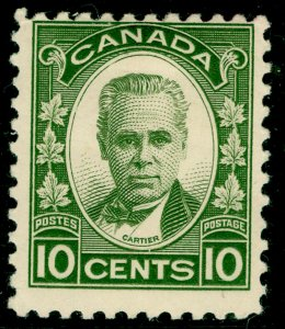 CANADA SG312, 10c olive-green, M MINT. Cat £14.