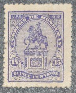 DYNAMITE Stamps: Honduras Scott #190 – USED
