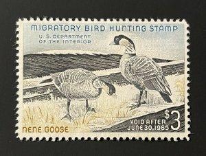 US Scott RW31 Hunting Permit Stamp MH CV $100