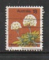1975 Australia - Sc 564 - used VF - single - Helichrysum Thomsonii