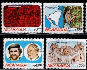 Nicaragua 1983 SC# 1225-1228 (2)