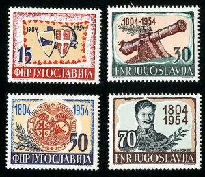 Yugoslavia Stamps # 411-14 VF MLH Scott Value $32.50