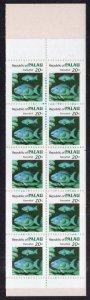 Palau 14b Marine Life Booklet MNH VF