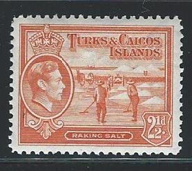 Caicos Islands   mnh S.C. 83