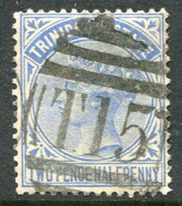 """TRINIDAD (25074): St.Mary's """"T.15"""" numeral postmark/cancel"""