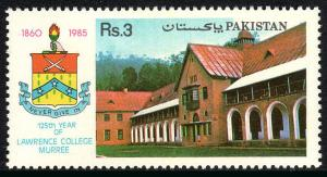 Pakistan 655, MNH. Lawrence College, Murree, 125th anniv. 1985